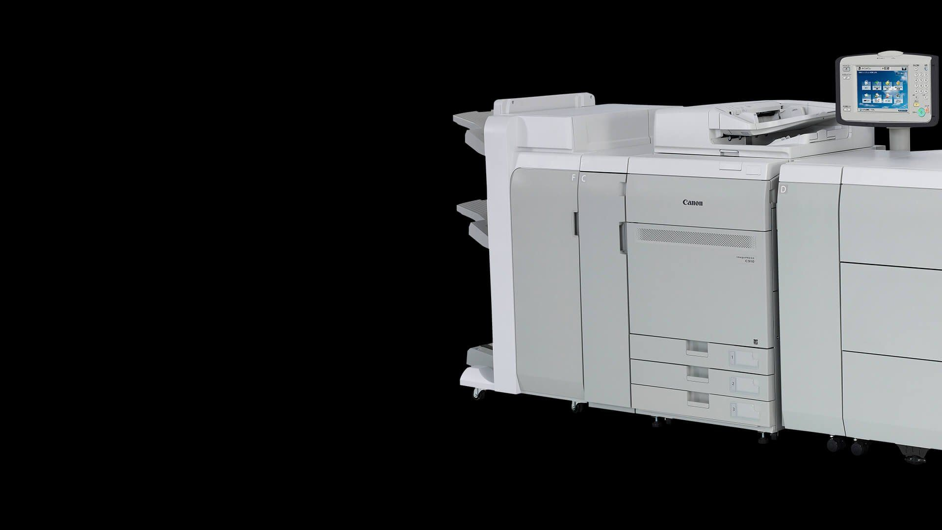 Imagepress C910 Series Canon Europe